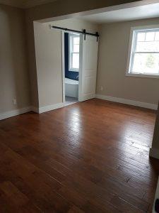 Flooring with Barn Door