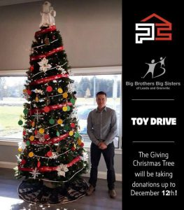 Precision Contracting Toy Drive
