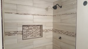 Shower Inlay Tiles