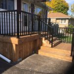 Front Railing and Deck