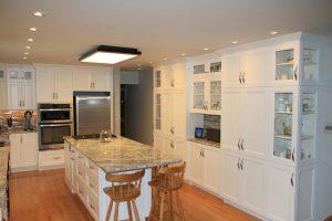 Kitchen Island, Storage Cabinets