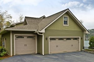 Finished Two Car Garage