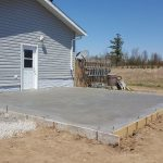 Garage Concrete Pad