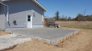 Garage Concrete Pad