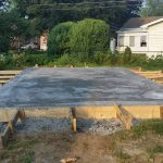 Addition Concrete Pad