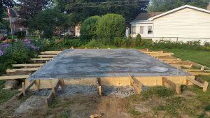 Addition Concrete Pad