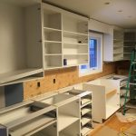Kitchen Cabinets in Progress