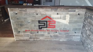 Precision Contracting Entrance Sign